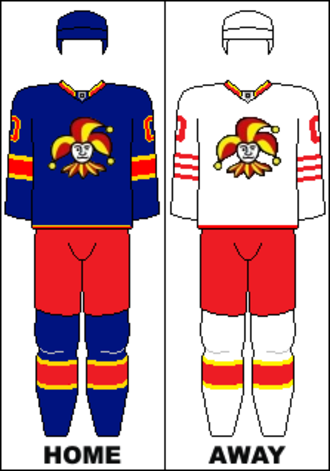 Jokerit - Jerseys for 2014/2015 season