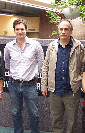 Kevin Collins (American actor) - Collins with director, Jamil Dehlavi, at the 2008 South Asian International Film Festival