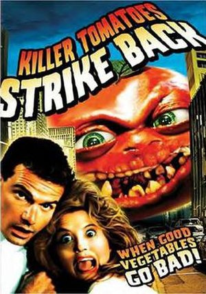 Killer Tomatoes Strike Back - DVD cover