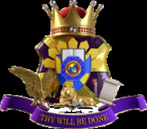 Kingdom of Jesus Christ (church) - Image: Kingdom of Jesus Christ KJC coa