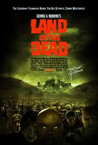 Land of the Dead - Theatrical release poster