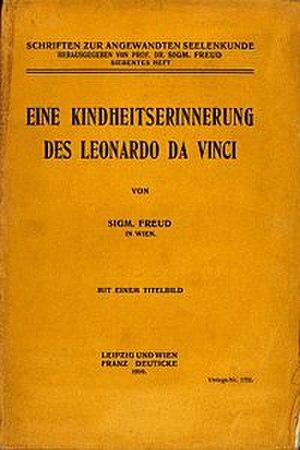 Leonardo da Vinci, A Memory of His Childhood - The German edition