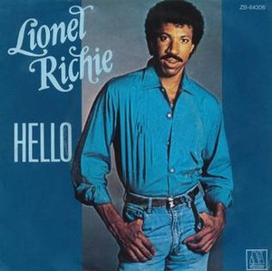 Hello (Lionel Richie song) - Image: Lionel Richie Hello
