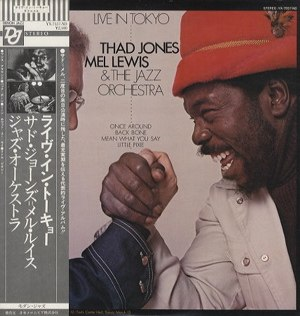 Live in Tokyo (The Thad Jones/Mel Lewis Orchestra album) - Image: Live In Tokyo Thad Jones Mel Lewis L Pwith Obi