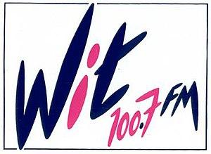Wit FM - Image: Logo Wit FM 1988