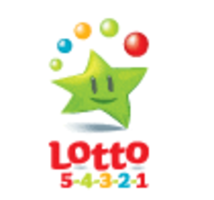 National Lottery (Ireland) - Lotto 5-4-3-2-1 logo in use from 2008 onwards