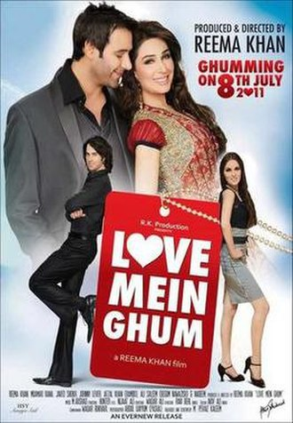 Love Mein Ghum - Theatrical poster