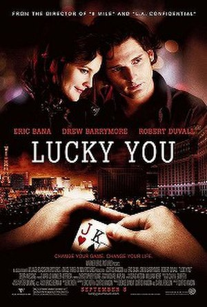 Lucky You (film) - Theatrical release poster