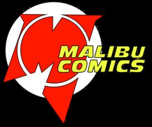 Malibu Comics - Malibu Comics logo