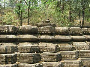 Malinithan - Ruins of Malinithan temple