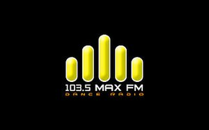 DWKX - Max FM logo from 2009 to 2010.