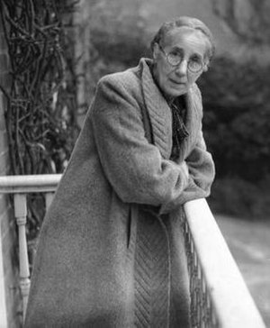 Minnie Louise Haskins - Haskins in later life