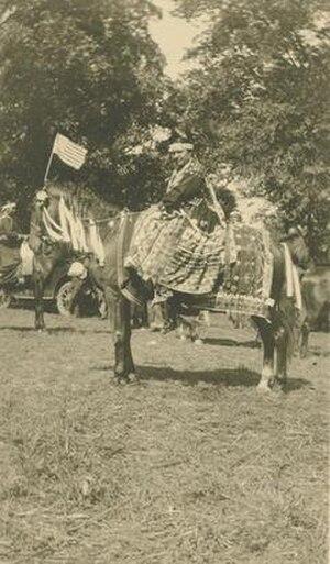 Minnie Evans (Potawatomi leader) - Minnie Wishkeno KaKaQue circa 1915
