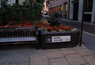 Mitre Square - Image: Mitre Square 2