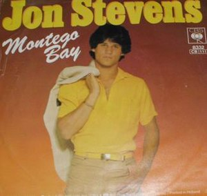 Montego Bay (song) - Image: Montego Bay by Jon Stevens