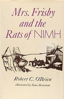 <i>Mrs. Frisby and the Rats of NIMH</i> novel by Robert C. OBrien