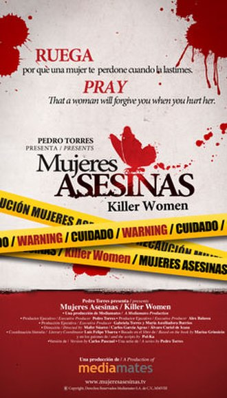 Mujeres asesinas (Mexican TV series) - DVD cover of Season 1