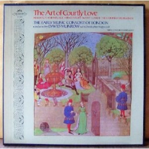 The Art of Courtly Love (box set) - The original LP box for The Art of Courtly Love