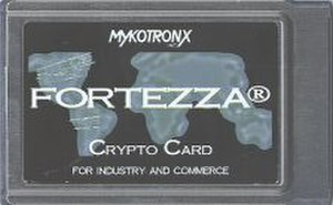 Fortezza - A Fortezza card made by Mykotronx Corp.