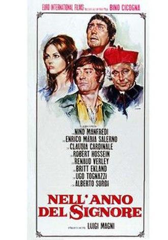 Nell'anno del Signore - Theatrical release poster