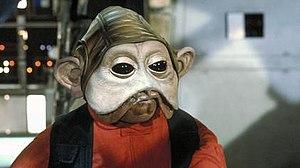 Nien Nunb - Nien Nunb in Return of the Jedi