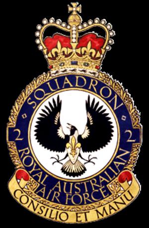 No. 2 Squadron RAAF - Image: No. 2 Squadron RAAF Crest
