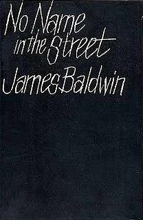 <i>No Name in the Street</i> book by James Baldwin