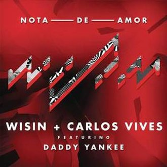 Wisin and Carlos Vives featuring Daddy Yankee — Nota de Amor (studio acapella)