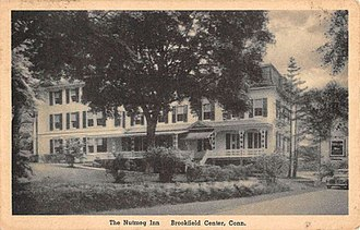Brookfield, Connecticut - A vintage postcard from The Nutmeg Inn