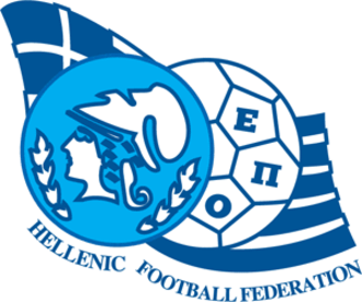 Hellenic Football Federation - Old crest (1994-2005)