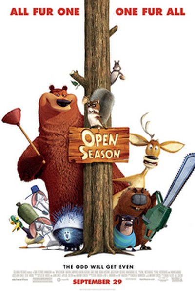 Picture of a movie: Open Season