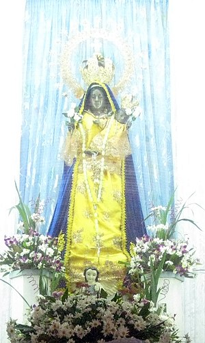Our Lady of Piat - Our Lady of Piat enshrined in 2011