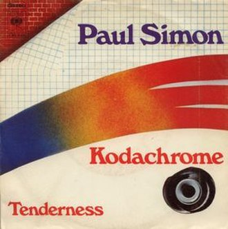 Kodachrome (song) - Image: Paulsimonkodachrome