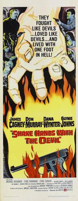 Shake Hands with the Devil (1959 film) - Image: Poster of the movie Shake Hands with the Devil