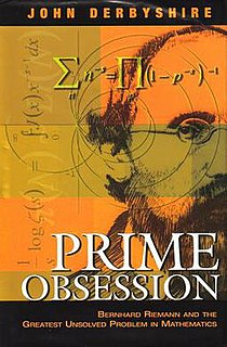 <i>Prime Obsession</i> book by John Derbyshire