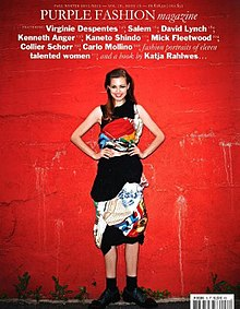 Purple Fasion (magazine) Fall Winter 2011 cover.jpg