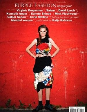 Purple (magazine) - Fall Winter 2011/2012 cover