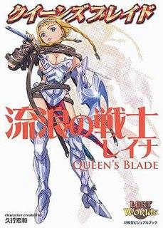 <i>Queens Blade</i> Manga and anime series
