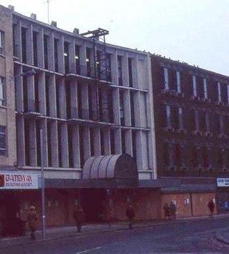 Queens Arcade - The former Queen Street Arcade on Working Street