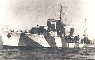 Greek destroyer <i>Vasilissa Olga</i>