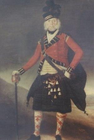 Ranald MacKinnon - Image: Ranald Mac Kinnon portrait in 84th Reg't. uniform