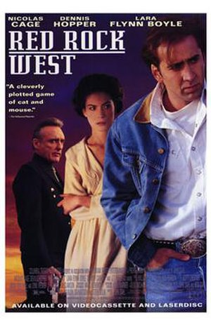 Red Rock West - Theatrical release poster