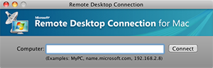 Remote Desktop Services - Remote Desktop Connection client on Mac OS X