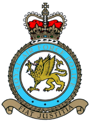 Royal Air Force Police - Image: Royal Air Force Police crest