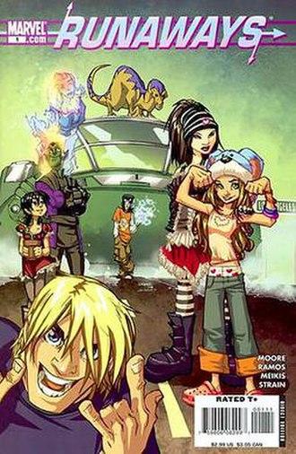 Dead Wrong (comics) - Image: Runaways v 3 1