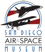 Logo of the San Diego Air & Space Museum