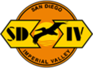 San Diego and Imperial Valley Railroad - Image: San Diego and Imperial Valley Railroad logo
