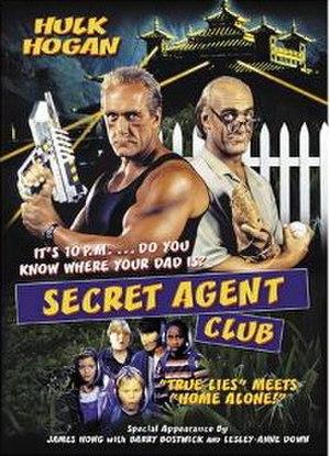 The Secret Agent Club - DVD cover