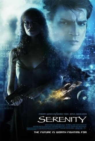 Serenity (2005 film) - Theatrical release poster