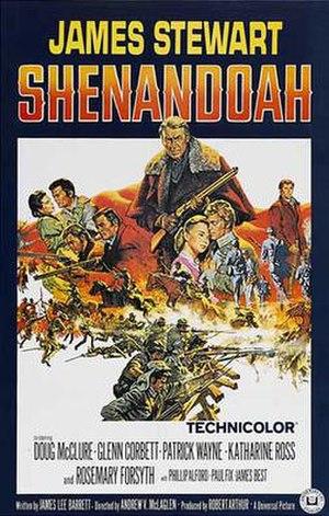 Shenandoah (film) - 1965 cinema poster
